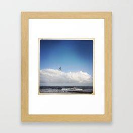 On a Wing Framed Art Print