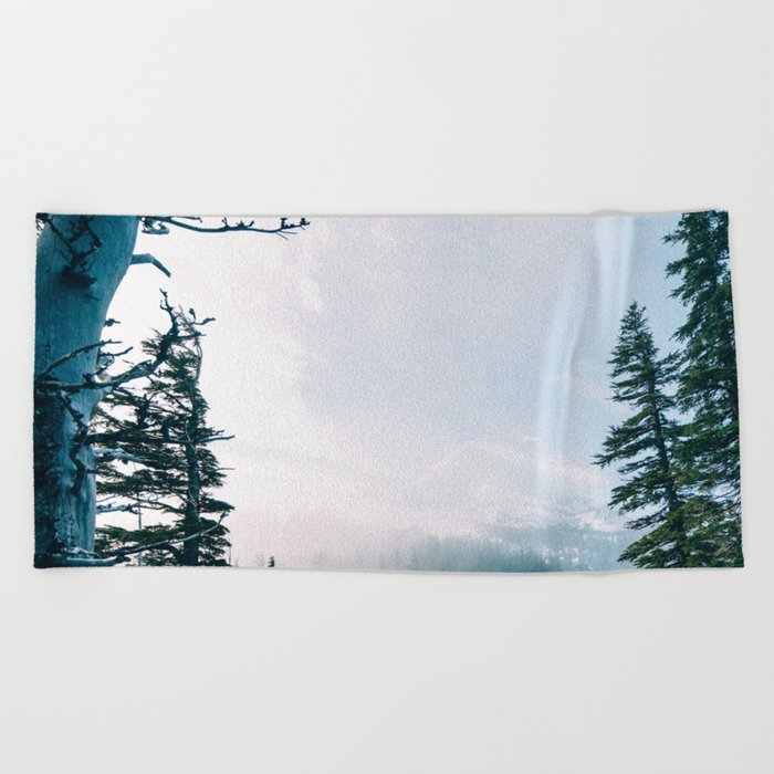Winter Peace Beach Towel