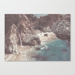 McWay Falls Big Sur California Canvas Print