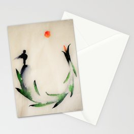 """Enso man"" Stationery Cards"