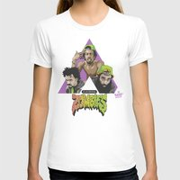zombies T-shirts featuring FLATBUSH ZOMBIES by WHIP