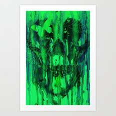 Birth of Oblivion Art Print