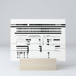 Music Production Mini Art Print