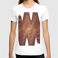 minerals T-shirts featuring Dancing Lines by thea walstra