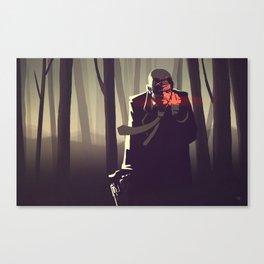Sin City woods Canvas Print