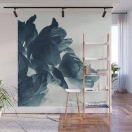 Blue Paeonia #6 Wall Mural