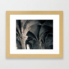 Arched Ceiling Framed Art Print