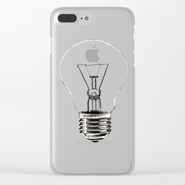 I Have an Idea!  Let there be light... Clear iPhone Case