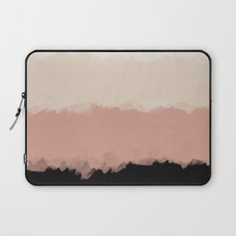 Abstract Rose Color Flora Blush Laptop Sleeve