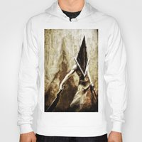 silent hill Hoodies featuring Silent Hill Pyramid Head by Joe Misrasi