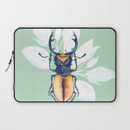 Stag-beetle watercolor Laptop Sleeve