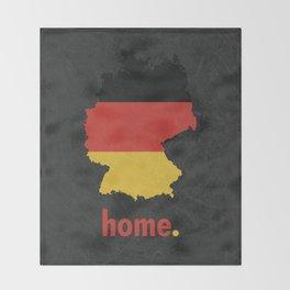 Germany Proud Throw Blanket