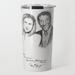 Diana Krall and Tony Bennett Travel Mug