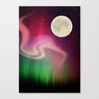aurora Canvas Prints featuring Aurora by Angelo Cerantola