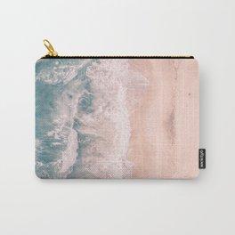 California Beach Waves Carry-All Pouch