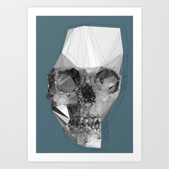 Out of yourself  Art Print