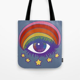 Rainbow Eye Tote Bag