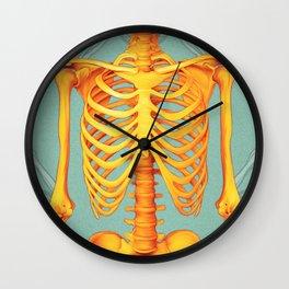 Skeleton II Wall Clock