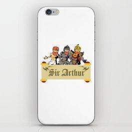 Sir Arthur iPhone Skin