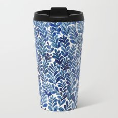 Indigo blues Metal Travel Mug
