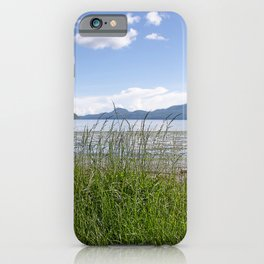 CRESCENT BEACH LOW TIDE ORCAS ISLAND iPhone Case