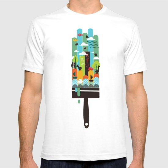 Paint your world T-shirt