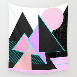 Hello Mountains - Moonlit Adventures Wall Tapestry