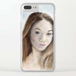 Hannah Clear iPhone Case
