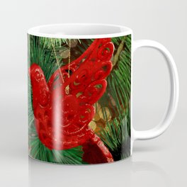 festive Dove Coffee Mug