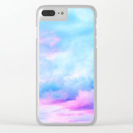 Clouds Series 2 Clear iPhone Case