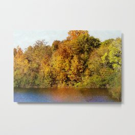 Autumn Blaze Metal Print