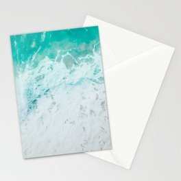 Turquoise Sea Photo   Sea Photography   Tropical Clear Ocean Water Stationery Cards