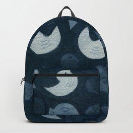 Little Blue Birds Backpack