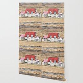 Red Barn Wallpaper