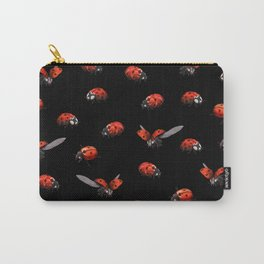 Ladybug at Night Carry-All Pouch
