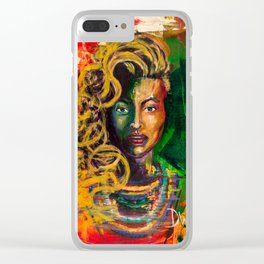 Beyhive Clear iPhone Case