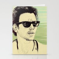 james franco Stationery Cards featuring James Franco by beecharly
