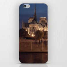 Paris by Night: Notre Dame iPhone & iPod Skin