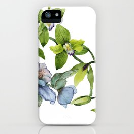 The Winter Blooms iPhone Case