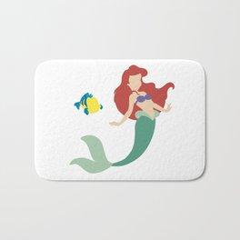 Ariel and Flounder Bath Mat