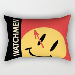 Who Watches Who? Rectangular Pillow