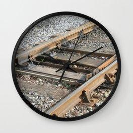 Train Track Wall Clock