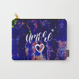 Amore Love Valentines day abstract gift Carry-All Pouch