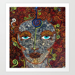 Vision of Ajna Art Print