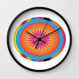 Mandala Art Wall Clock