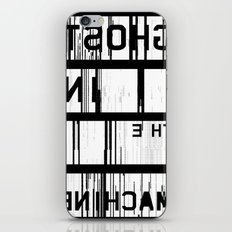 Ghost in the Machine (Inverted) iPhone & iPod Skin