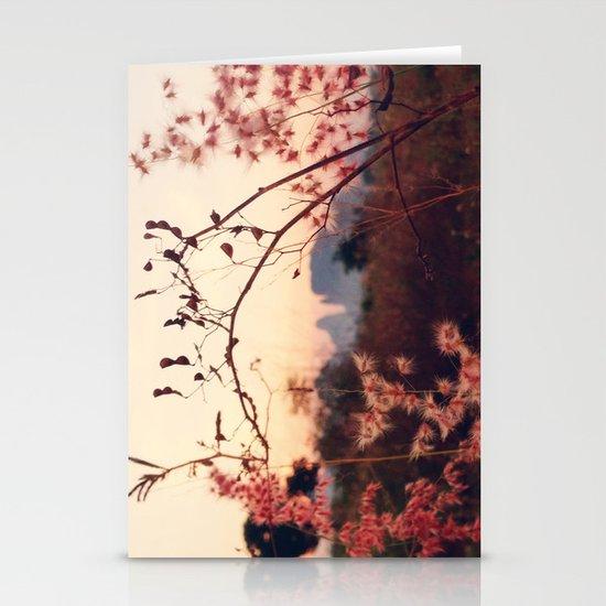 Desert Sakura Stationery Cards