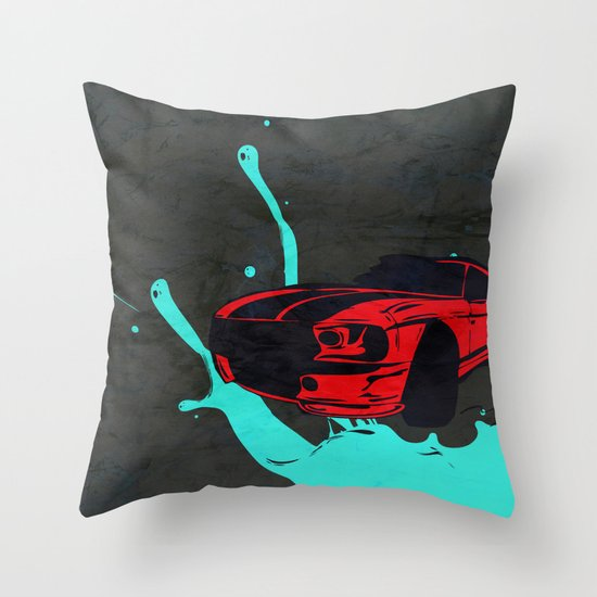 new Car ?? Throw Pillow