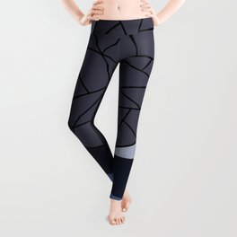 DARK MOON (abstract geometric) Leggings