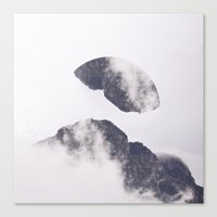 witchoria Canvas Prints featuring Face it.  by witchoria